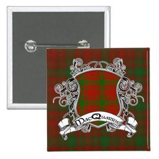 Escudo del tartán de MacQuarrie Pin