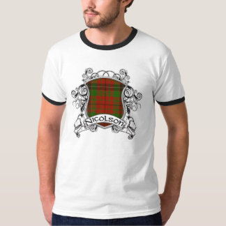 Escudo del tartán de Nicolson Camisas