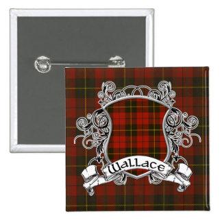 Escudo del tartán de Wallace Pins