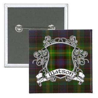 Escudo del tartán de Watson Pins