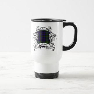 Escudo del tartán del vertedero taza de café