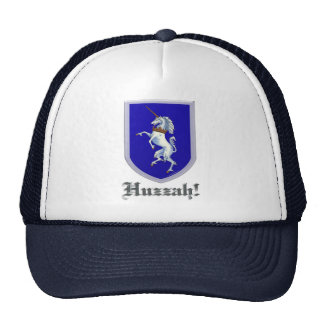 Escudo del unicornio gorra