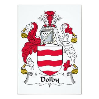 """Escudo Dolby de la familia Invitación 5"""" X 7"""""""