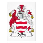 Escudo Dolby de la familia Invitacion Personal
