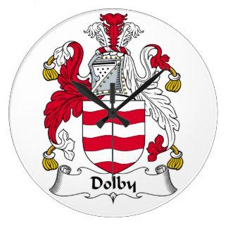 Escudo Dolby de la familia Reloj Redondo Grande