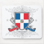 Escudo dominicano tapete de ratón