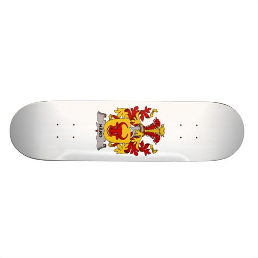 """Escudo duro de la familia patineta 8 1/8"""""""