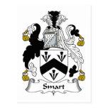 Escudo elegante de la familia postal