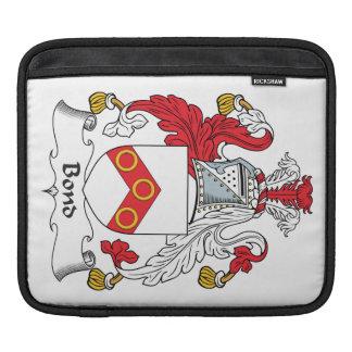 Escudo en enlace de la familia fundas para iPads