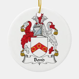 Escudo en enlace de la familia ornamente de reyes