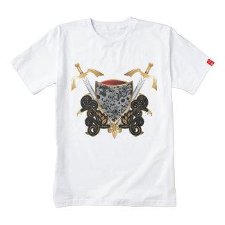 Escudo en oro y negro con los cráneos
