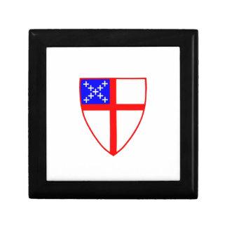 Escudo episcopal joyero cuadrado pequeño