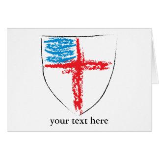 Escudo episcopal Notecard