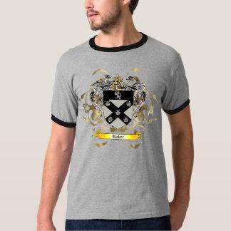 Escudo/escudo de armas del panadero camisas