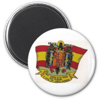 Escudo España Imán Redondo 5 Cm
