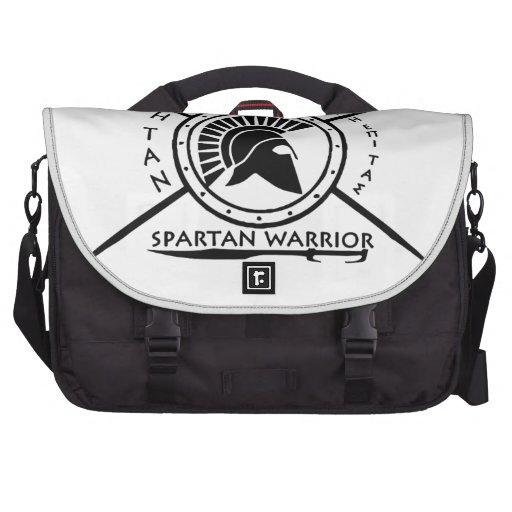 Escudo espartano del guerrero bolsas de portatil
