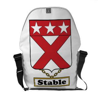 Escudo estable de la familia bolsas de mensajeria