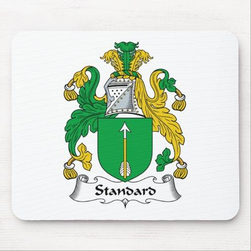 Escudo estándar de la familia tapetes de ratón