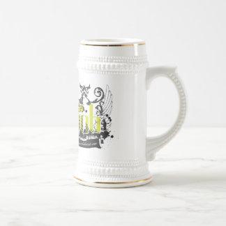 Escudo estupendo Stein de la sacudida Jarra De Cerveza