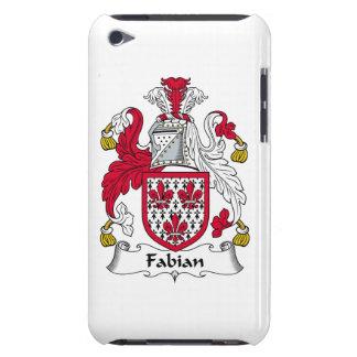Escudo fabiano de la familia iPod touch Case-Mate coberturas