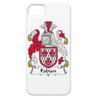 Escudo fabiano de la familia iPhone 5 Case-Mate protector