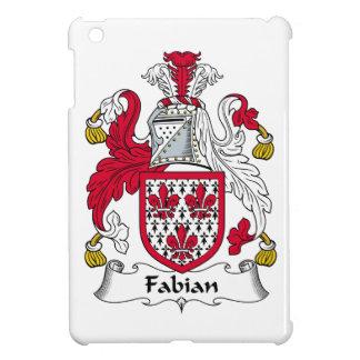 Escudo fabiano de la familia iPad mini carcasas