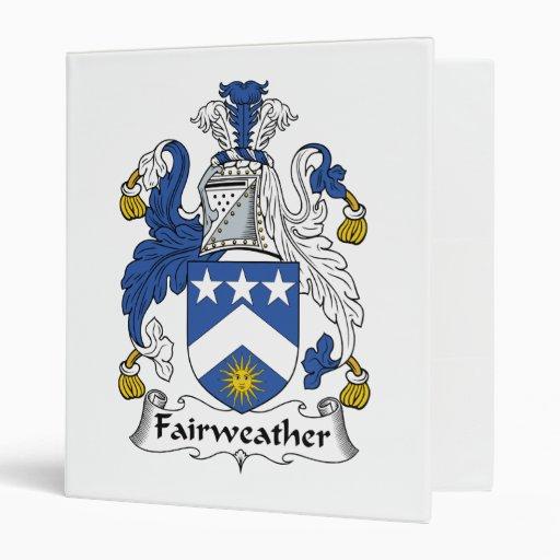 Escudo Fairweather de la familia