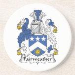 Escudo Fairweather de la familia Posavasos Manualidades