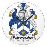Escudo Fairweather de la familia Relojes De Pared
