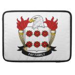 Escudo Fay de la familia Funda Para Macbook Pro