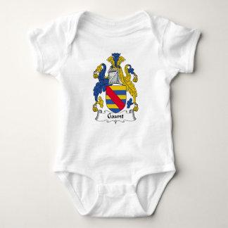 Escudo flaco de la familia body para bebé