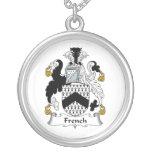 Escudo francés de la familia grimpola personalizada