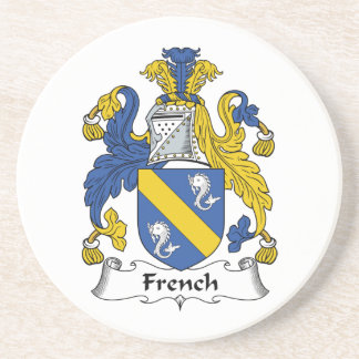 Escudo francés de la familia posavasos manualidades