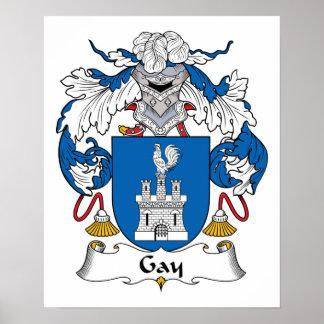 Escudo gay de la familia poster