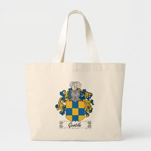 Escudo gentil de la familia bolsa de mano