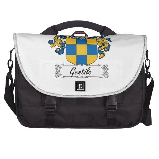 Escudo gentil de la familia bolsas de portátil