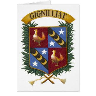 Escudo - Gignilliat leído 001 Tarjeta Pequeña