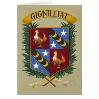 Escudo - Gignilliat leído 003 Tarjeta Pequeña