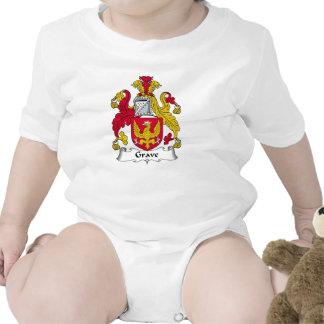 Escudo grave de la familia camisetas