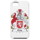 Escudo gris de la familia iPhone 5 Case-Mate protector
