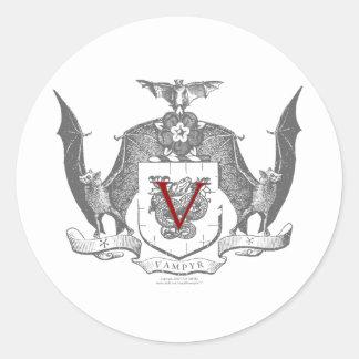 Escudo gris de Vampyr de la sombra Etiquetas
