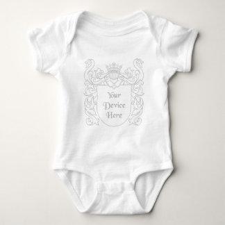 Escudo heráldico adaptable body para bebé