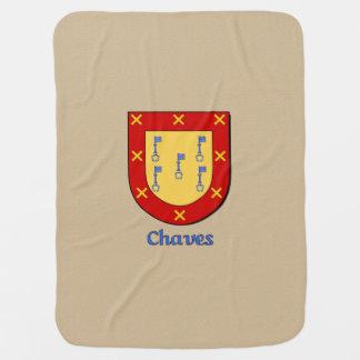 Escudo heráldico de Chaves Mantitas Para Bebé