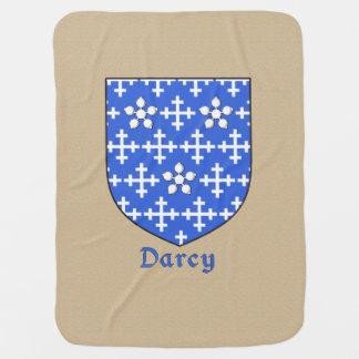 Escudo heráldico de Darcy Mantita Para Bebé