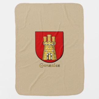 Escudo heráldico de Gonzalez Mantas De Bebé