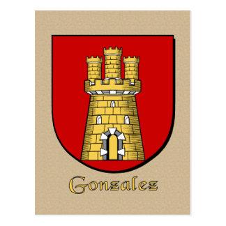 Escudo heráldico de la familia de Gonzalez Postal