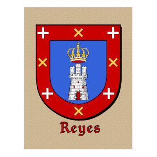 Escudo heráldico de la familia de Reyes Postales