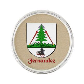 Escudo histórico de Fernández Insignia