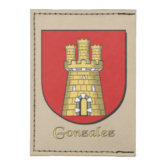 Escudo histórico de la familia de Gonzalez Tarjeteros Tyvek®