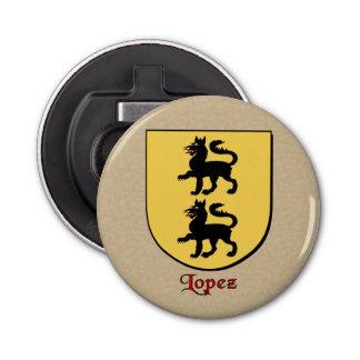 Escudo histórico de los brazos de López Abrebotellas Redondo